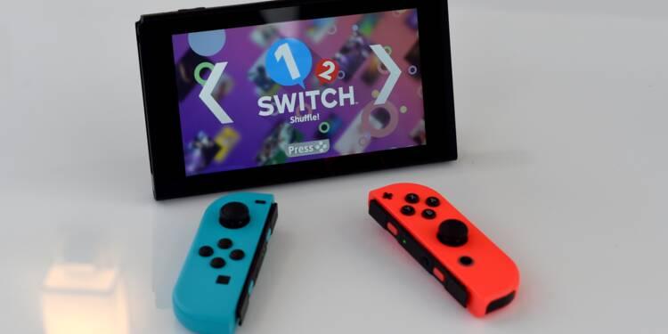 Les prévisions de Nintendo revigorées par sa nouvelle console Switch