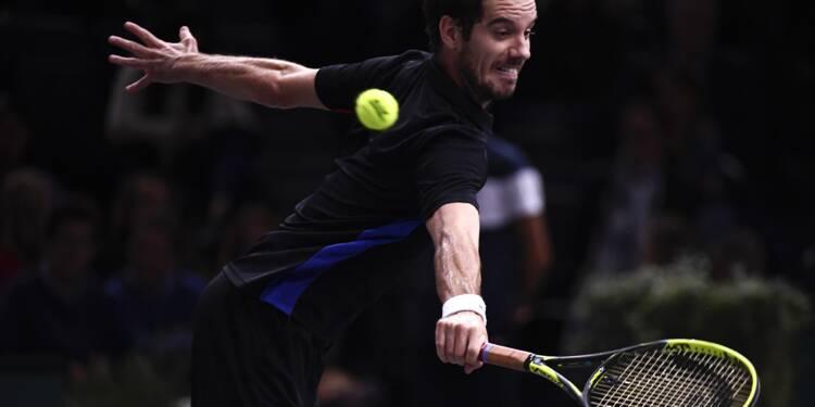 Tennis: de Pouille à Gasquet, la Coupe Davis sur toutes les lèvres à Paris-Bercy