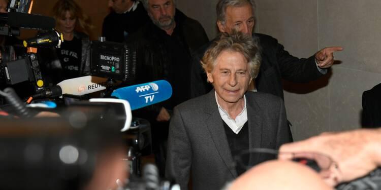 Manifestation de féministes contre le lancement d'une rétrospective Polanski