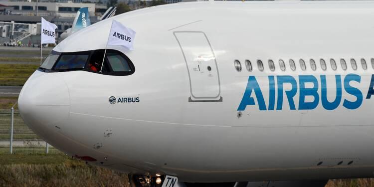 """Visé par des enquêtes, le gouvernement exige d'Airbus """"la transparence"""""""