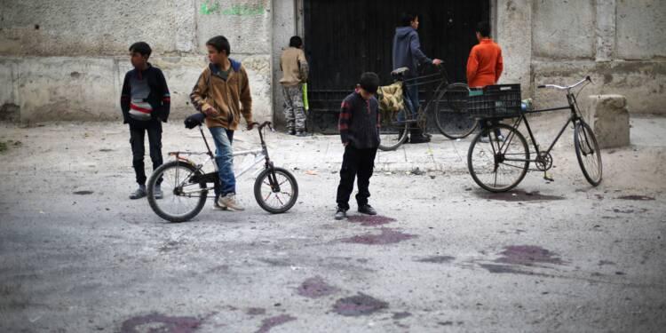 Syrie: quatre écoliers tués par un tir d'obus du régime dans une ville assiégée