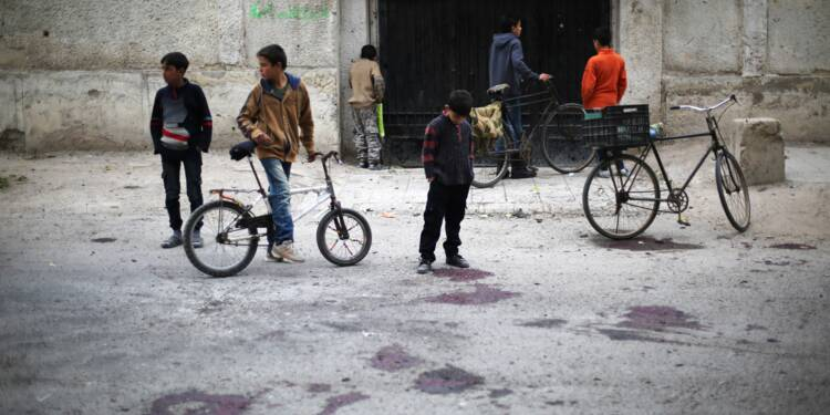 En Syrie, des écoliers fauchés par un tir d'obus du régime
