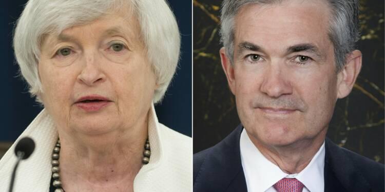 USA/Fed: la succession de Yellen relègue les taux au second plan
