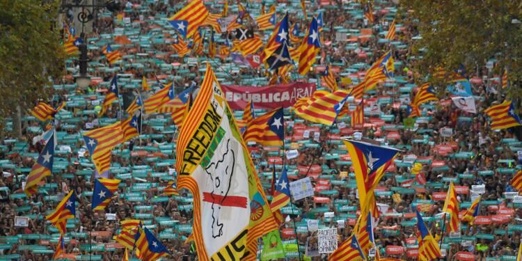 """Catalogne: risque de """"récession"""" si la tension dure, selon Banque d'Espagne"""