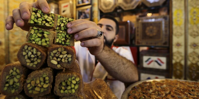 A Damas, le commerce des douceurs orientales allèche de nouveau