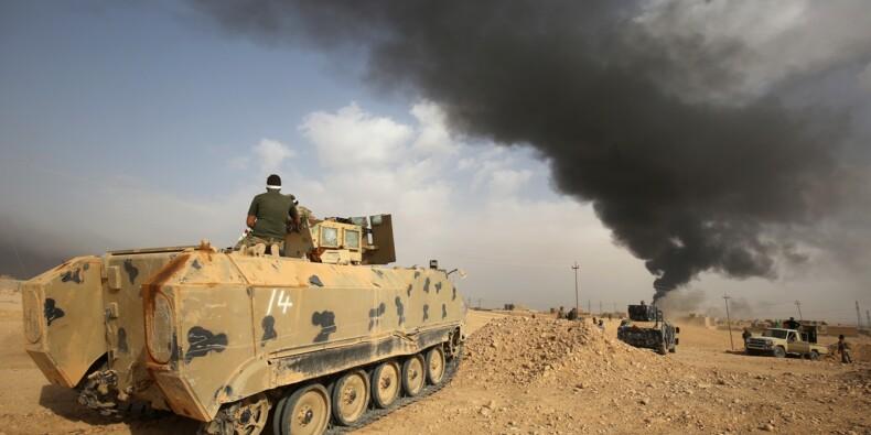 Les forces irakiennes progressent dans al-Qaïm, dernier bastion de l'EI