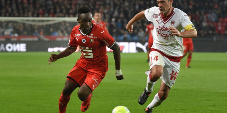 Ligue 1: Rennes réussit la passe de quatre contre Bordeaux