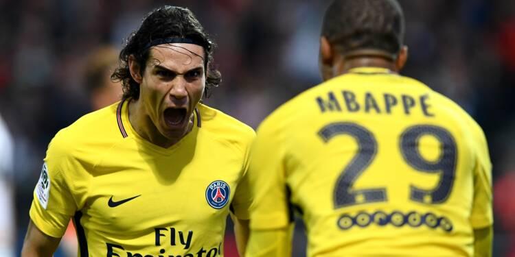 Ligue 1: le PSG surclasse Angers aux abonnés absents