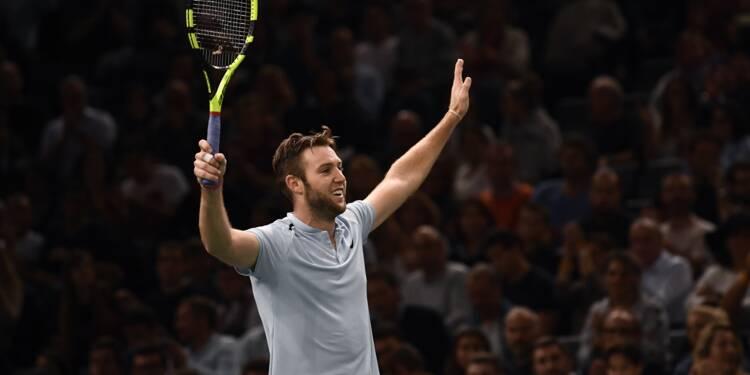 Tennis: Sock met fin au parcours de Benneteau en demi-finales à Paris-Bercy