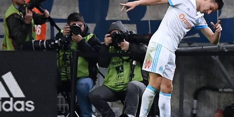 Ligue 1: Marseille oublie l'affaire Évra en corrigeant Caen