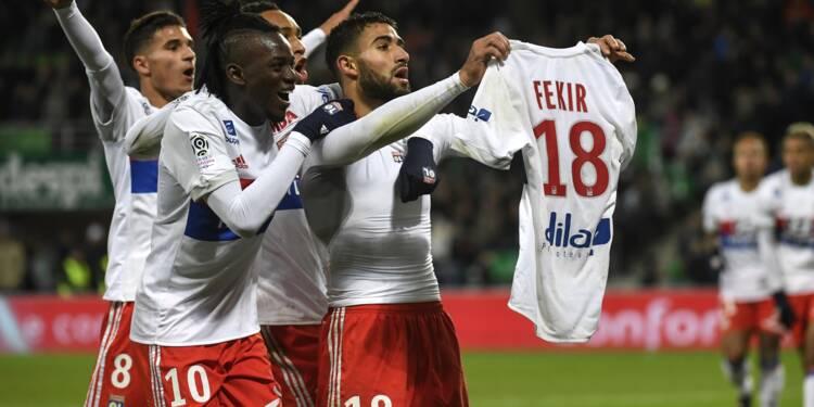 Ligue 1: Lyon a renversé un Chaudron en ébullition