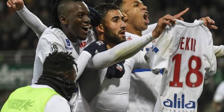 Ligue 1: Lyon enlève le derby dans une ambiance délétère