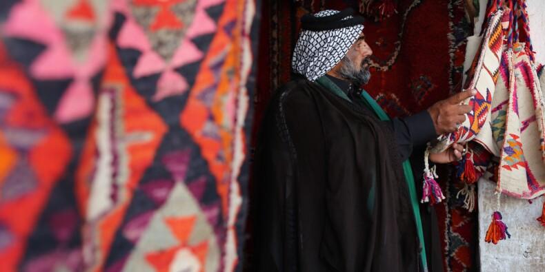 En Irak, l'art du tapis menacé par la production en série
