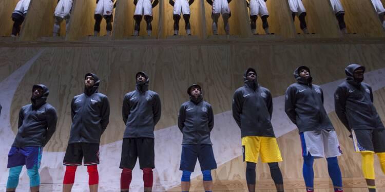 Les nouveaux maillots NBA se déchirent, Nike cherche une solution