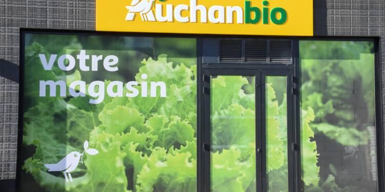 Bio : Auchan lance son enseigne Auchanbio, vise 100 magasins