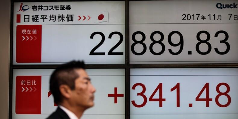 La Bourse de Tokyo finit à son plus haut niveau depuis 25 ans