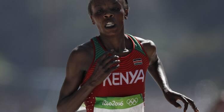 Athlétisme: la Kényane Jemima Sumgong suspendue quatre ans pour dopage
