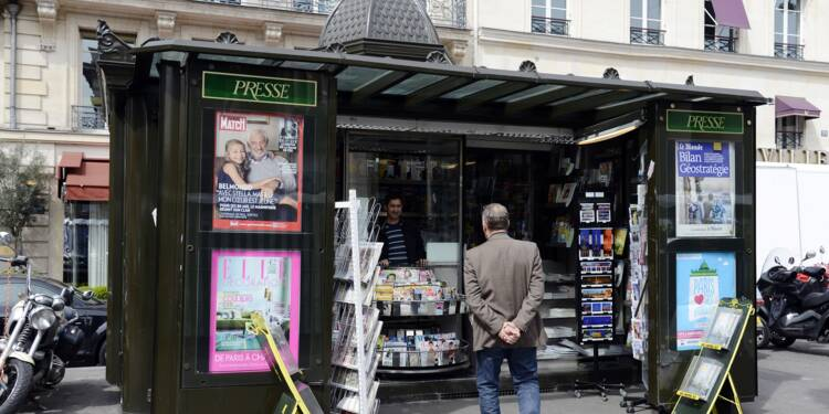 Paris sans journaux suite au blocage d'un dépôt par des kiosquiers