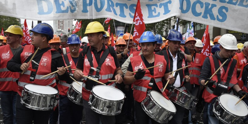 """Port de Sète: la CGT dénonce des pratiques sociales """"uniques en France"""""""