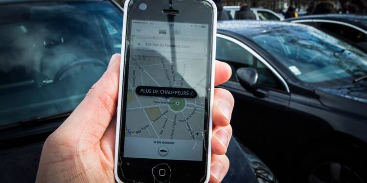Nouvelle action de chauffeurs VTC contre Uber à Paris, 13 interpellations