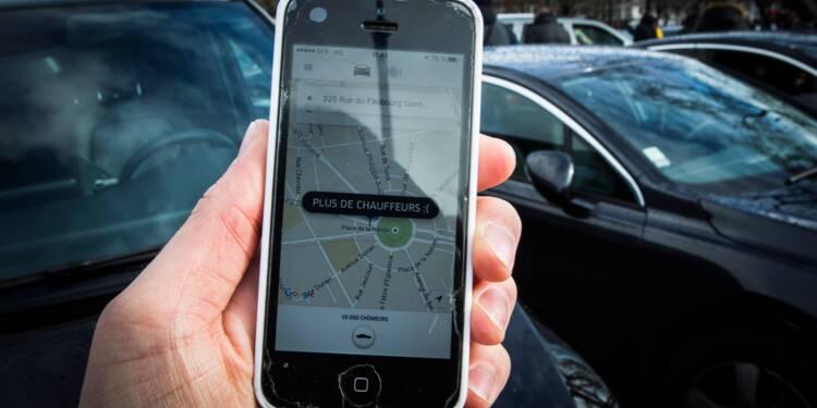 Nouvelle action de chauffeurs VTC contre Uber à Paris, 13 interpellations