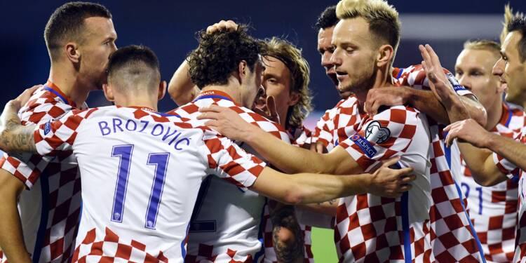 Barrages Mondial-2018: la Croatie fait un grand pas, la Suisse un petit