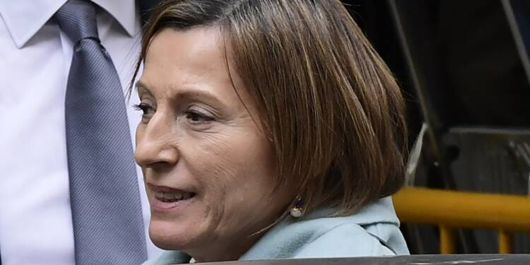 Catalogne: la présidente indépendantiste du parlement devant la justice
