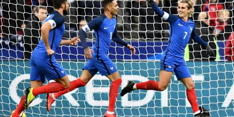 Amical: la France domine le pays de Galles 2-0