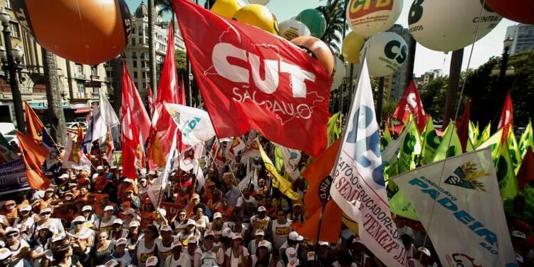 Nouvelle mobilisation anti-austérité dans la rue au Brésil