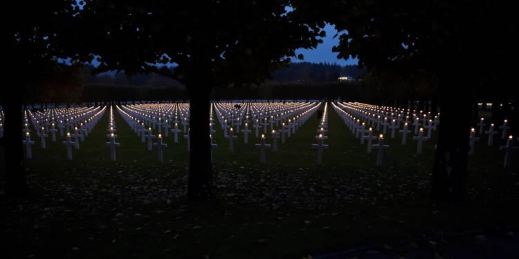 11 novembre: les tombes de 3.500 soldats américains illuminées dans la Meuse