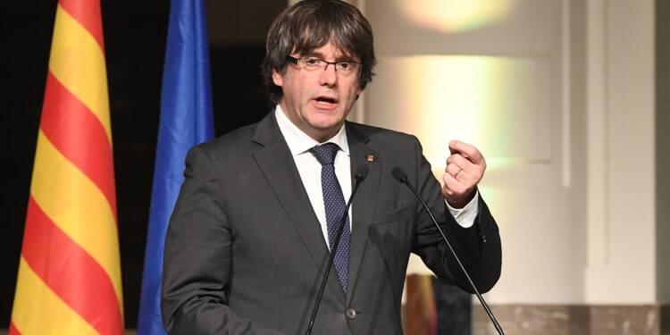 La justice belge examine le mandat d'arrêt visant Puigdemont