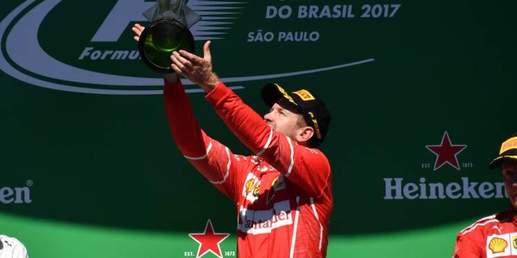 GP du Brésil: Vettel se console, Hamilton se rattrape