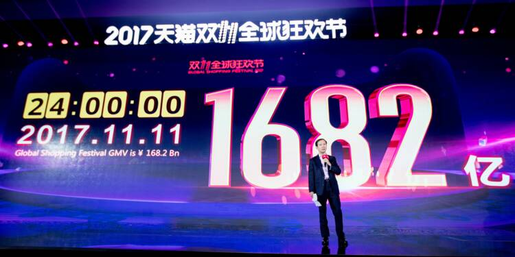 Soldes monstres en Chine: Alibaba vend pour 25 milliards de dollars en 24 heures