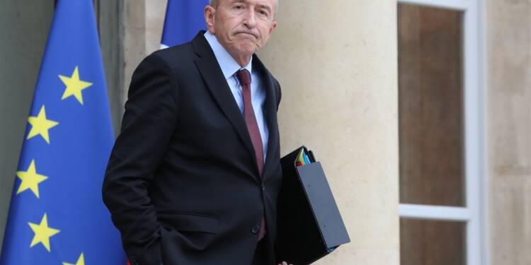 """Gérard Collomb : """"nous sommes mieux armés qu'il y a deux ans"""""""