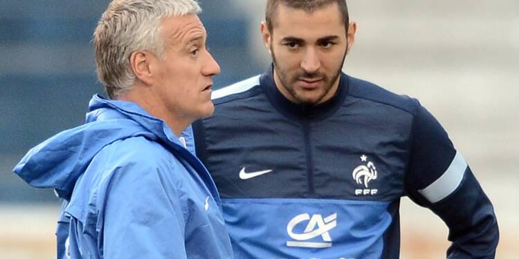 """Benzema: """"pas la chance"""" de revenir en Bleu """"tant que Deschamps sera sélectionneur"""""""