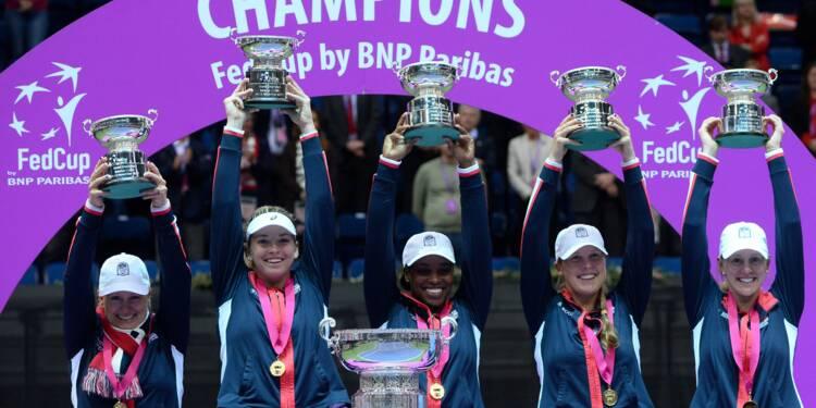 Fed Cup: Vandeweghe offre le titre aux Etats-Unis après 17 ans d'attente