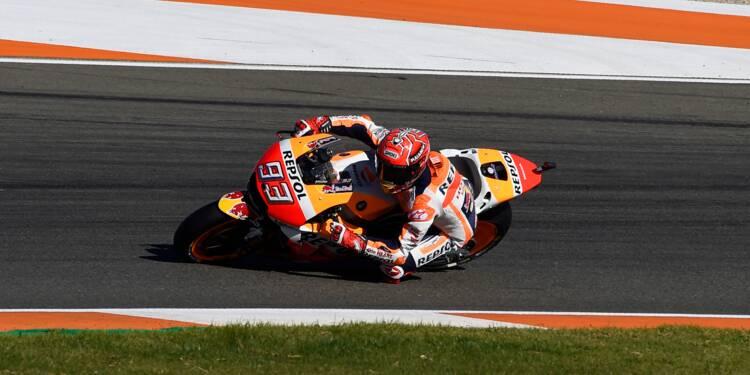 Moto: Marc Marquez (Honda) remporte un 4e titre mondial en MotoGP lors du GP de Valence