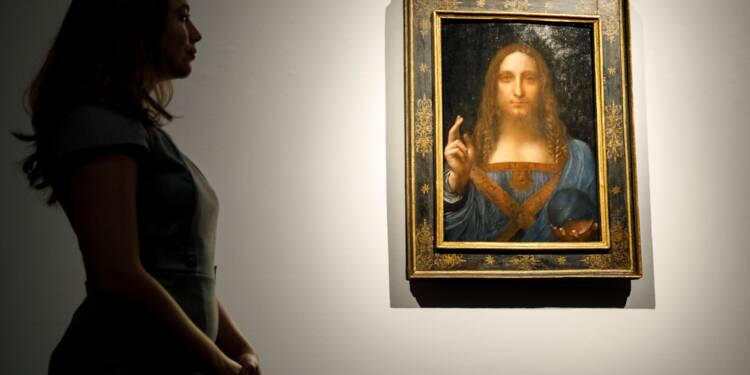 Un Vinci controversé mis aux enchères à 100 millions de dollars par le propriétaire de l'AS Monaco