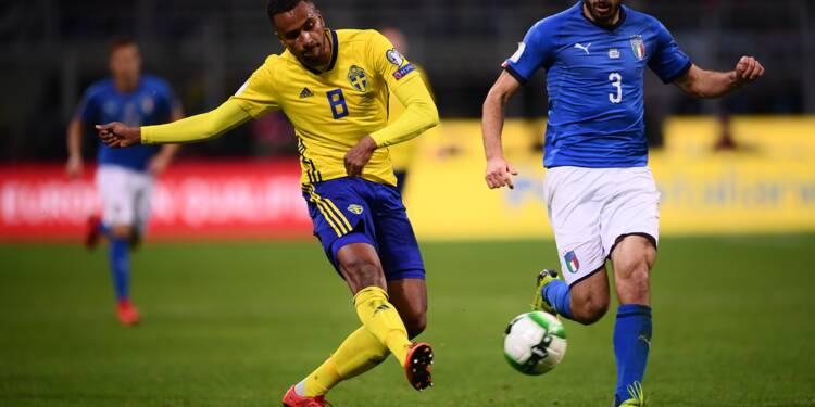 Mondial-2018: la Suède qualifiée, l'Italie éliminée