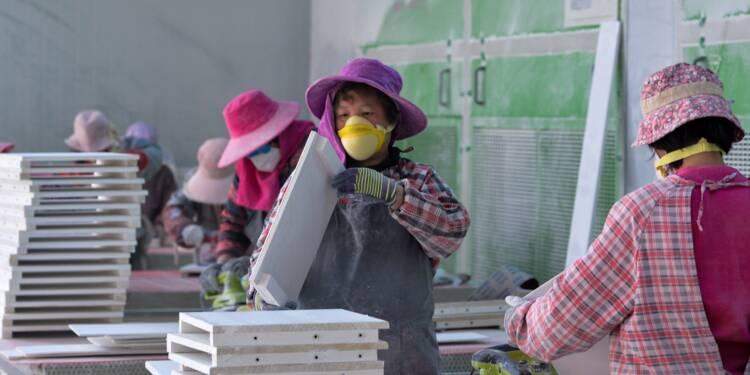 Chine: l'économie s'essouffle en octobre, la lutte anti-pollution pèse