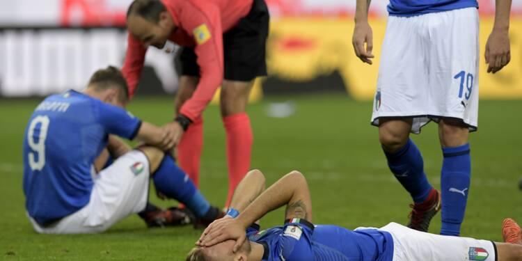 Mondial-2018: après le choc de l'élimination, l'Italie résignée