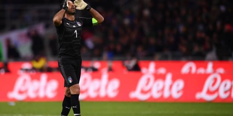 Mondial-2018: l'Italie et Buffon meurent à San Siro et n'iront pas en Russie
