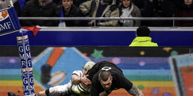 Rugby: pas de revanche pour des Bleus bis valeureux face aux Blacks