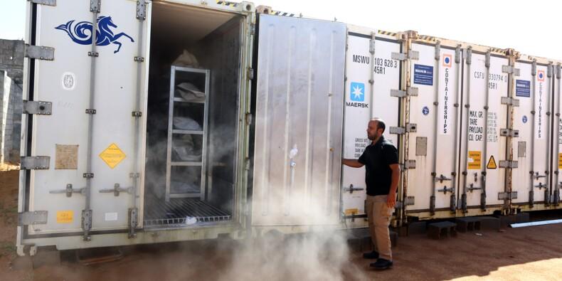 Libye: à Misrata, les cadavres oubliés de l'EI