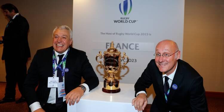 Rugby: la France organisera sa 2e Coupe du monde en 2023