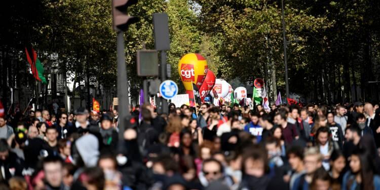 Nouvelle journée de protestation en demi-teinte contre la politique de Macron