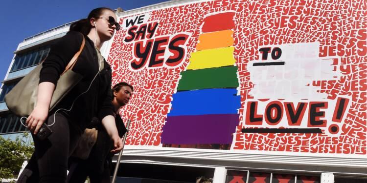 """Sans hésiter, les Australiens disent """"oui"""" au mariage gay"""