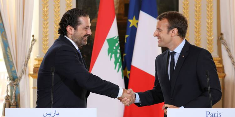 """Hariri en France """"dans les prochains jours"""" à l'invitation de Macron, selon l'Elysée"""