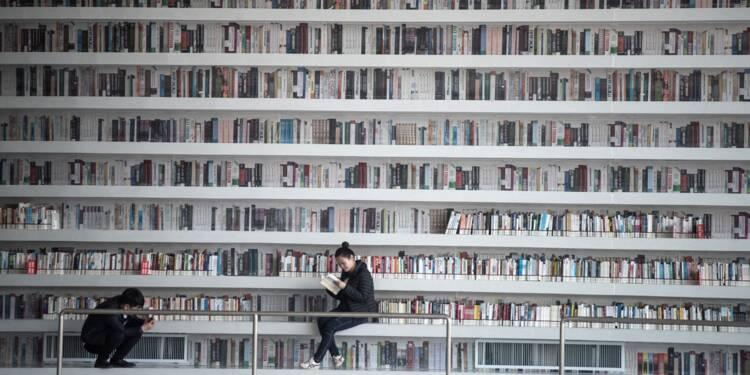 Bibliothèque futuriste en Chine: pas tant de livres que ça