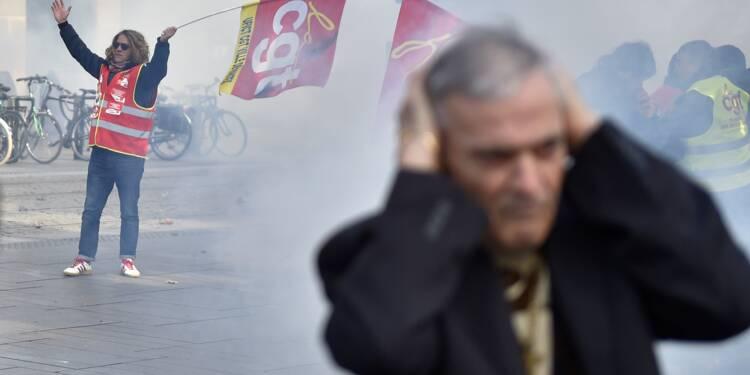 """La mobilisation contre la politique de Macron fait """"flop"""" pour la presse"""